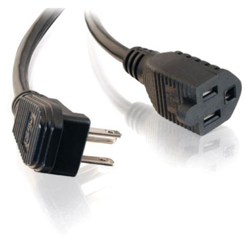 C2G 6ft 18 AWG Flat Plug Power Strip Plus (NEMA 5 15P To NEMA 5 15R) Alternate-Image1/500
