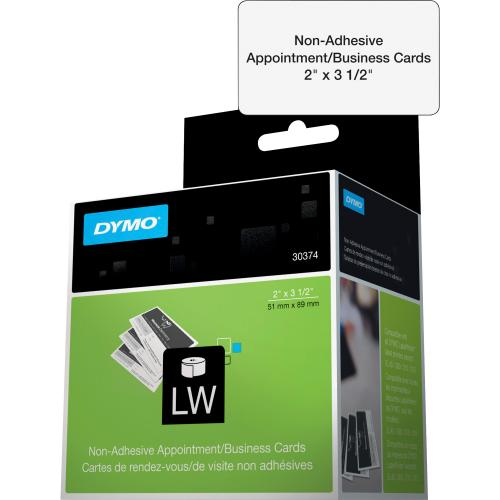 Dymo Direct Thermal Business Card   White Alternate-Image1/500