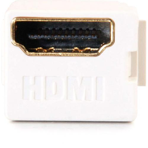 C2G Snap In HDMI F/F Keystone Insert Module   White Alternate-Image1/500