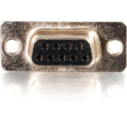 C2G DB9 Female D Sub Solder Connector Alternate-Image1/500