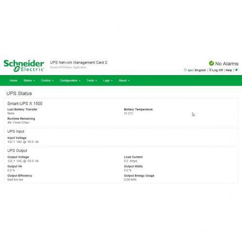 APC UPS Network Management Card Alternate-Image1/500