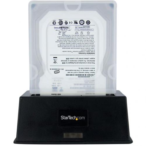 StarTech.com 3.5in Silicone Hard Drive Protector Sleeve With Connector Cap Alternate-Image1/500