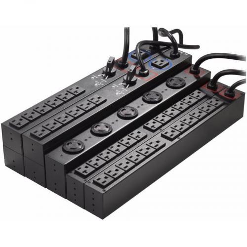Eaton Basic Rack PDU, 1U   EHBPL1500R PDU1U Alternate-Image1/500