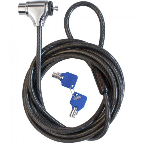 Codi Key Cable Lock W/ Two Keys Alternate-Image1/500