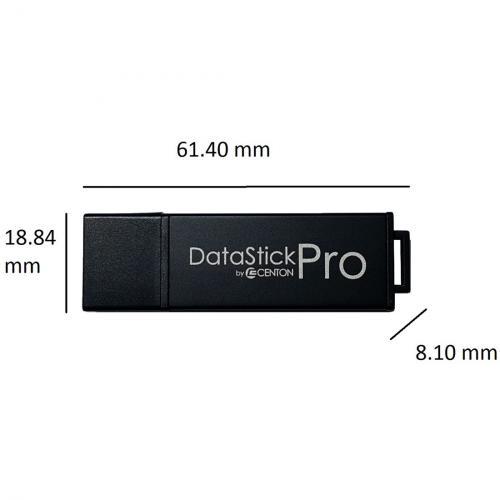 Centon 64GB DataStick Pro USB 2.0 Flash Drive Alternate-Image1/500