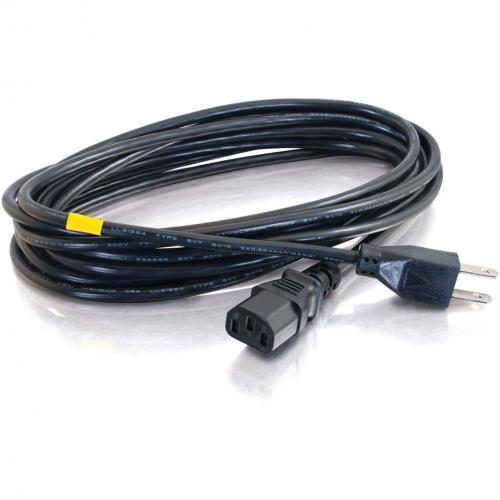 C2G 6ft 14 AWG Premium Universal Power Cord (NEMA 5 15P To IEC320C13) TAA Alternate-Image1/500