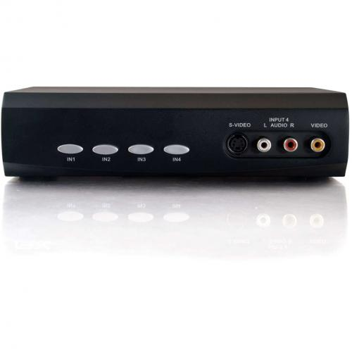 C2G 4x2 S Video + Composite Video + Stereo Audio Selector Switch Alternate-Image1/500