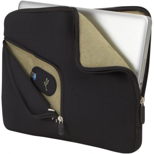 "Case Logic PAS 213 Carrying Case (Sleeve) For 13"" MacBook Pro   Black Alternate-Image1/500"