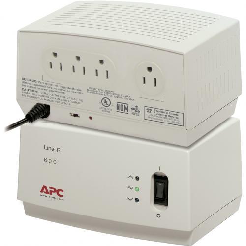 APC Line R 600VA Line Conditioner With AVR Alternate-Image1/500