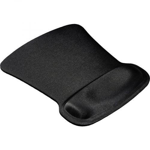 Allsop Ergoprene Gel Mouse Pad With Wrist Rest   Black   (30191) Alternate-Image1/500