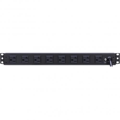 CyberPower Rackbar Surge Suppressor RM 1U RKBS20ST4F8R 20A 12 Outlet Alternate-Image1/500