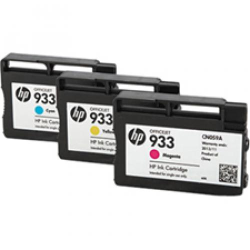 HP 951 Original Ink Cartridge   Cyan, Magenta, Yellow Alternate-Image1/500