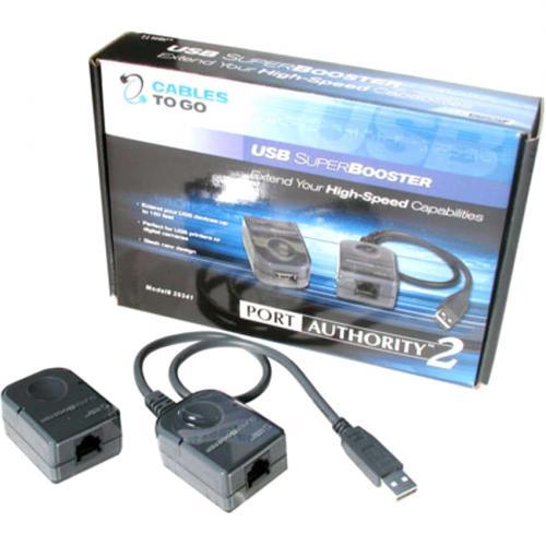 C2G USB Over Cat5 Superbooster Extender Kit Alternate-Image1/500