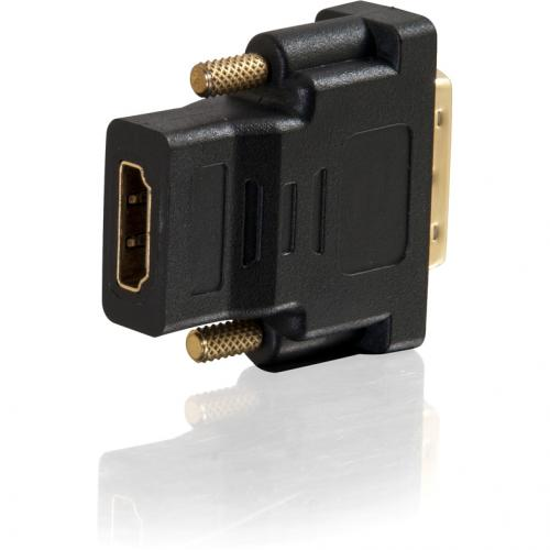 C2G DVI D To HDMI Adapter   Inline Adapter   Male To Female Alternate-Image1/500