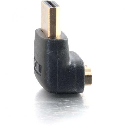 C2G HDMI To HDMI Adapter   90° Down   Male To Female Alternate-Image1/500