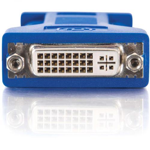 C2G DVI To VGA Video Adapter   1 X DVI A Female Video   1 X HD 15 Male   Black Alternate-Image1/500