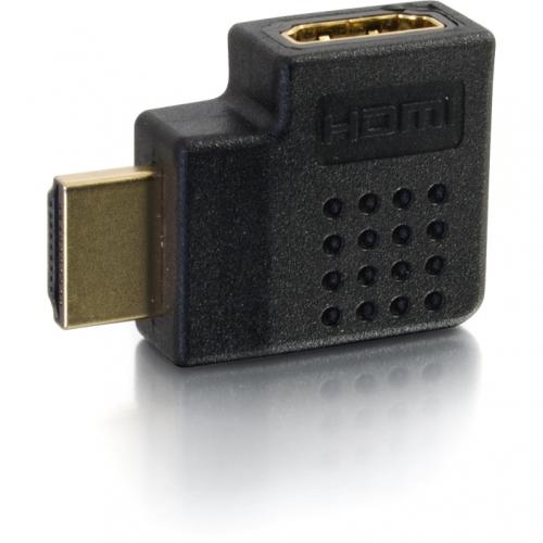 C2G Right Angled HDMI Adapter   Right Exit Alternate-Image1/500