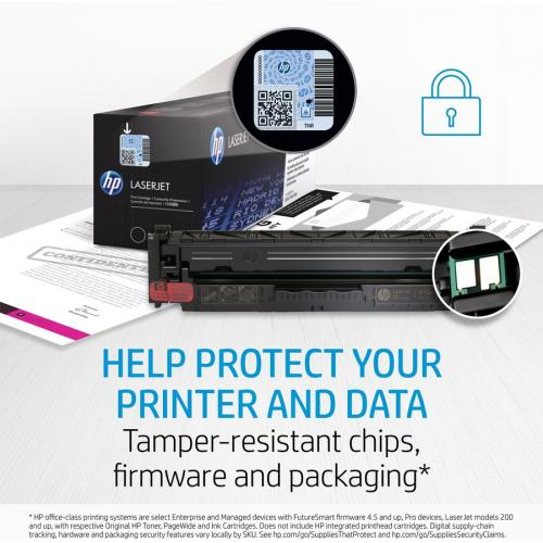 HP HEWCE410AG 305A Toner Cartridge Black Laser, Standard Yield 2200 Page Alternate-Image1/500