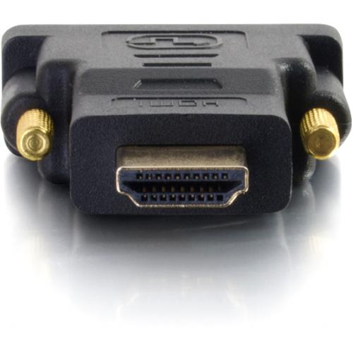 C2G DVI D Male To HDMI Male Adapter Alternate-Image1/500