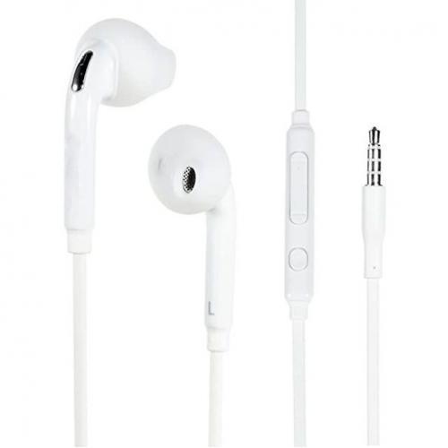 4XEM Earbud Earphones For Samsung Galaxy/Tab (White) Alternate-Image1/500