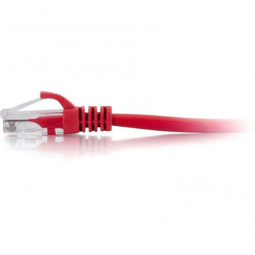 C2G 6in Cat5e Snagless Unshielded (UTP) Network Patch Cable   Red Alternate-Image1/500