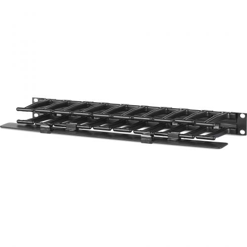 "APC By Schneider Electric Horizontal Cable Manager, 1U X 4"" Deep, Single Sided With Cover Alternate-Image1/500"