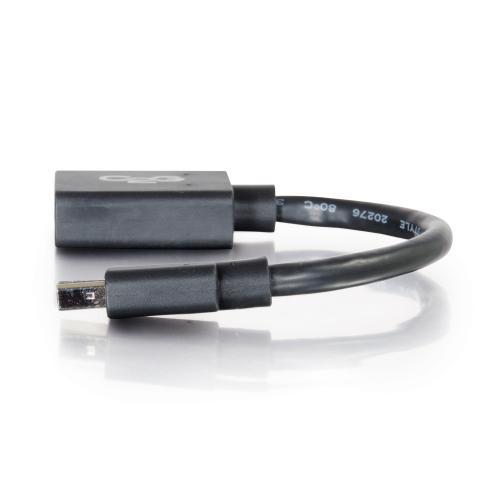 C2G Mini DisplayPort To DisplayPort Adapter   6in Mini DP T DVI Converter Alternate-Image1/500