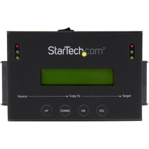 "StarTech.com Standalone 2.5 / 3.5"" SATA Hard Drive Duplicator W/ Multi HDD / SSD Image Backup Library Alternate-Image1/500"