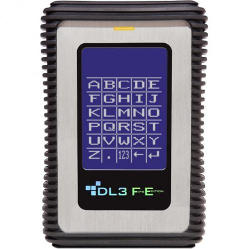 DataLocker DL3 FE (FIPS Edition) 2 TB Encrypted External Hard Drive Alternate-Image1/500
