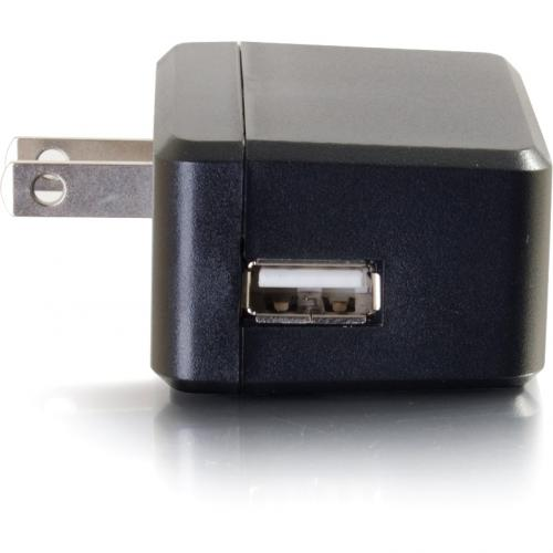 C2G USB Wall Charger   AC To USB Charger   5V 2A Output Alternate-Image1/500