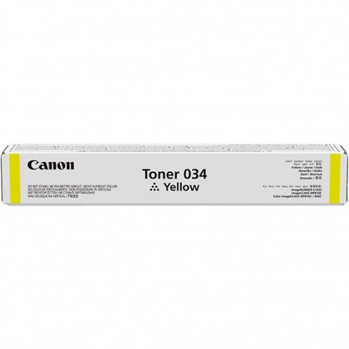 Canon 034 Original Toner Cartridge   Yellow Alternate-Image1/500