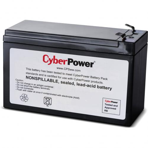 CyberPower RB1270B UPS Replacement Battery Cartridge 18 Month Warranty Alternate-Image1/500