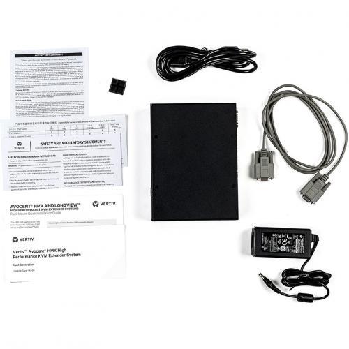 Vertiv Avocent HMX 5000 | High Performance KVM Extender | KVM Receiver | Dual Receiver | DVI D Audio SFP (HMX5200R 001) Alternate-Image1/500