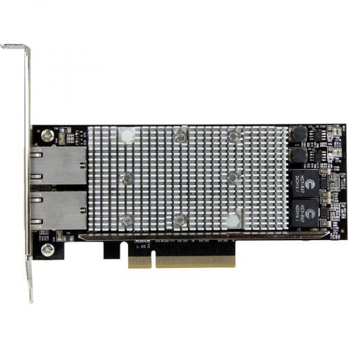 StarTech.com 10G Network Card ? 2 Port ? NBASE T ? RJ45 Port ? Intel X550 Chipset ? Ethernet Card ? Intel NIC Card Alternate-Image1/500