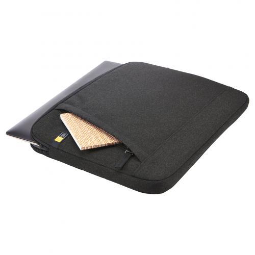 "Case Logic Huxton Carrying Case (Sleeve) For 13.3"" Notebook   Black Alternate-Image1/500"