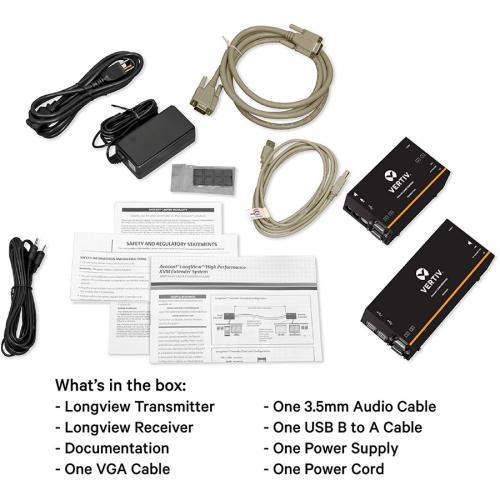 Avocent LV 3000 Series High Quality KVM Extender Kit With Receiver & Transmitter Alternate-Image1/500