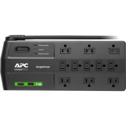 APC By Schneider Electric SurgeArrest 11 Outlet PDU Alternate-Image1/500