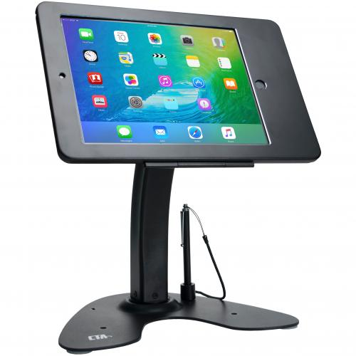 CTA Digital Dual Security Kiosk Stand Ipad And Ipad Air Black Alternate-Image1/500