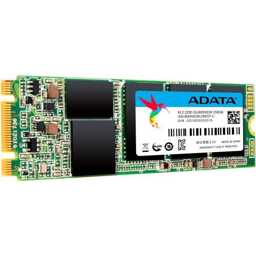 Adata Ultimate SU800 256 GB Solid State Drive   M.2 2280 Internal   SATA (SATA/600) Alternate-Image1/500