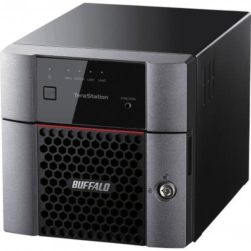 Buffalo TeraStation 3210DN Desktop 4 TB NAS Hard Drives Included Alternate-Image1/500
