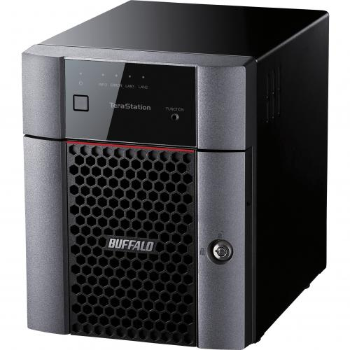 Buffalo TeraStation 3410DN Desktop 8 TB NAS Hard Drives Included Alternate-Image1/500