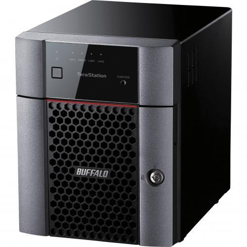 Buffalo TeraStation 3410DN Desktop 16 TB NAS Hard Drives Included Alternate-Image1/500