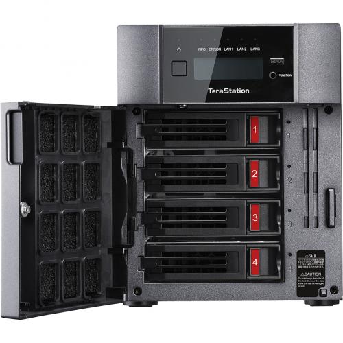 Buffalo TeraStation 5410DN Desktop 16TB NAS Hard Drives Included Alternate-Image1/500