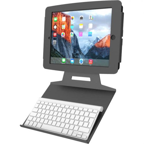 Compulocks Mounting Tray For Keyboard   Black Alternate-Image1/500