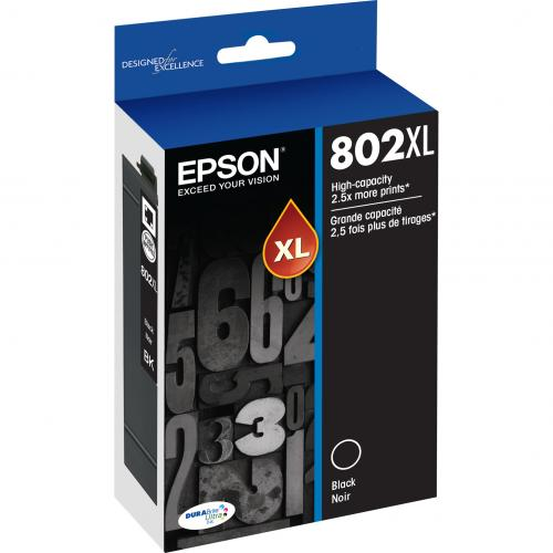 Epson DURABrite Ultra 802XL Original Ink Cartridge   Black Alternate-Image1/500