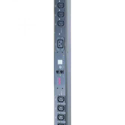 APC By Schneider Electric Rack PDU, Switched, Zero U,12.5kW,208V,(21)C13&(3)C19; 10' Cord Alternate-Image1/500