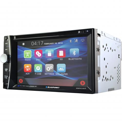 "Blaupunkt MMP440 Car DVD Player   6.2"" Touchscreen LCD   Double DIN Alternate-Image1/500"