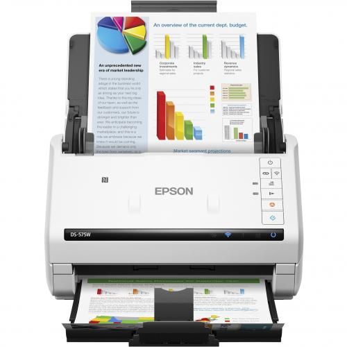 Epson DS 575W Sheetfed Scanner   600 Dpi Optical Alternate-Image1/500