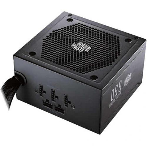 Cooler Master MasterWatt 650 Semi Fanless Modular 80 PLUS Bronze Certified Power Supply Alternate-Image1/500