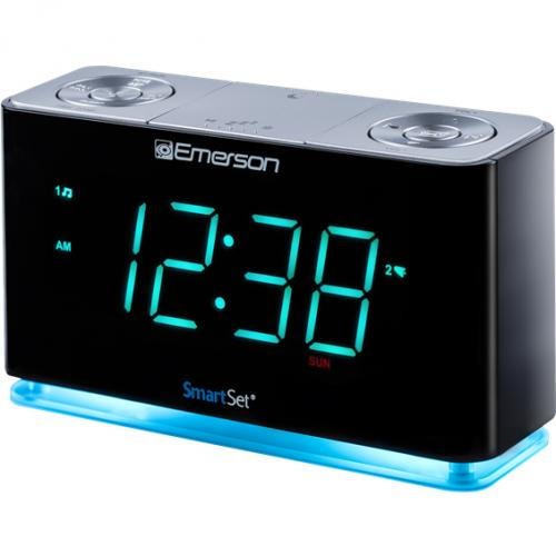 Emerson SmartSet ER100301 Desktop Clock Radio Alternate-Image1/500